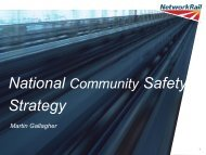 Level Crossings & Trespass - Association of Community Rail ...