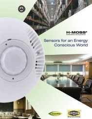 Hubbell Motion Sensing Switches Sensors For An Energy