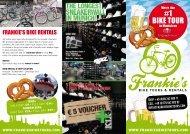 FRANKIE'S BIKE RENTALS - Frankie's Bike Tours