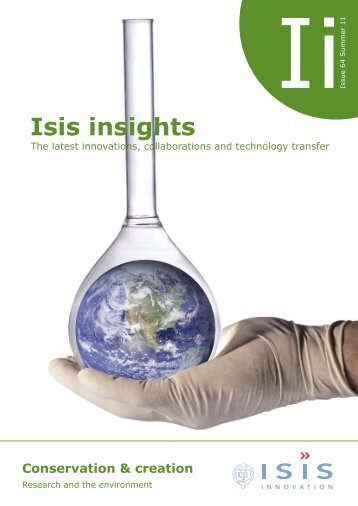 Click here to read the latest Isis Insights Newsletter - Isis Innovation