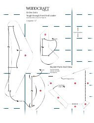 ISSUE 53 Tough-Enough Front End Loader Pattern - Woodcraft ...