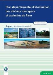 Evaluation environnementale février 2011 - Conseil général