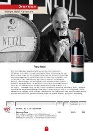 Weingut Netzl, Carnuntum Franz Netzl - TrinkFest