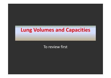 Lung Volumes and Capacities - Sinoe medical homepage.