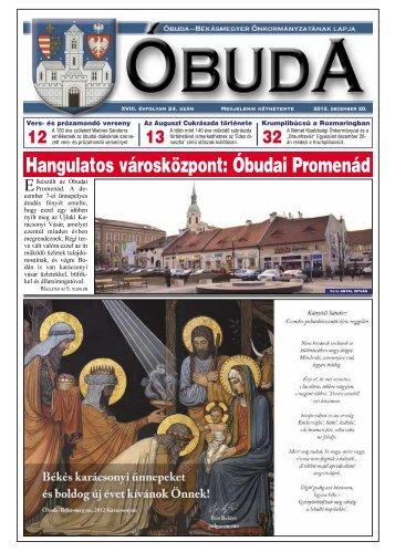 Hangulatos városközpont: Óbudai Promenád - Óbuda-Békásmegyer