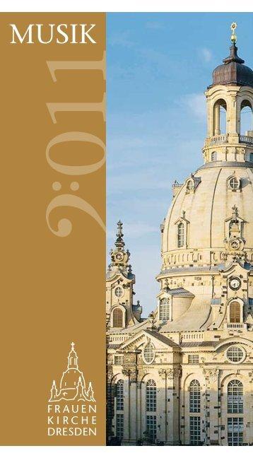 Musik in der Frauenkirche 2011 - 1. Internationaler BBB-Kongress ...