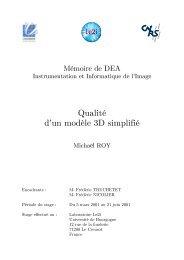 Mémoire de DEA 2001 - Le2i