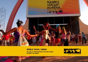 WORLD SOCIAL FORUM - Ibase