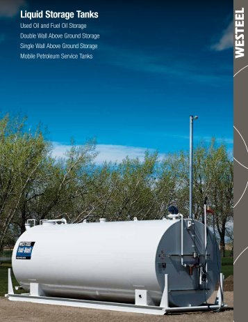 Liquid Storage Tanks - Westeel