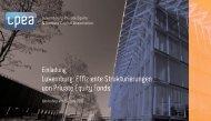 Luxemburg: Effiziente Strukturierungen von Private Equity Fonds