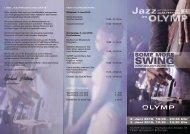 Jazz OLYMP - Ludwigsburger-kultursommer.de