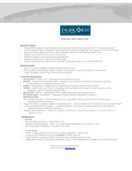 2005 September eBulletin - Pacific Rim Advisory Council (PRAC)