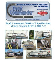Why Draft Commander 3000® A/T? - Weis Fire & Safety Equipment ...