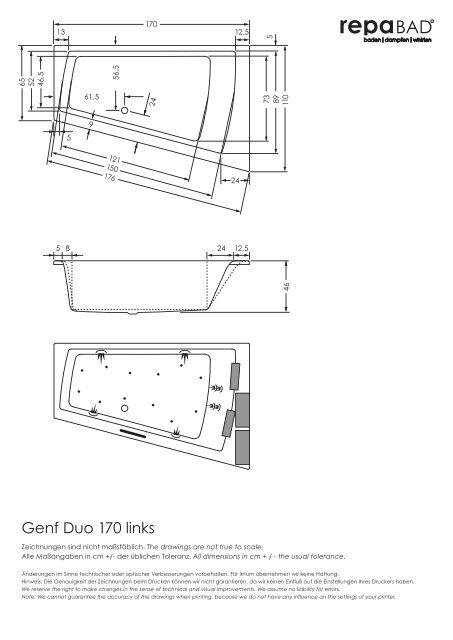 Genf Duo 170 links - Repabad