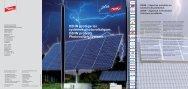 DEHN protège les systèmes photovoltaïques. DEHN protects ...