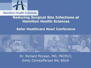 Reducing Surgical Site Infections at Hamilton Health Sciences.pdf