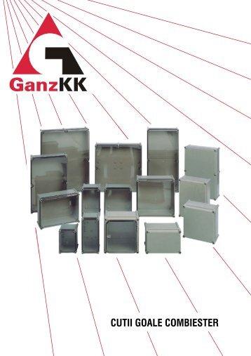 CUTII GOALE COMBIESTER - GANZ Kapcsoló- és Készülékgyártó Kft