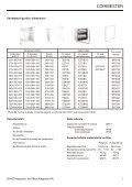 CUTII GOALE COMBIESTER - GANZ Kapcsoló- és Készülékgyártó Kft - Page 3