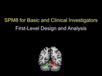 First Level Models - Neurometrika