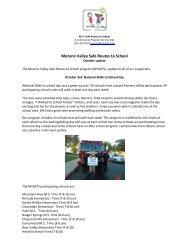 Moreno Valley Safe Routes to School - Moreno Valley Unified ...