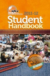 2011-2012 Student Handbook - South Florida State College