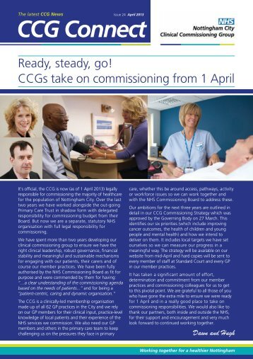 to read it - Nottingham University Hospitals NHS Trust
