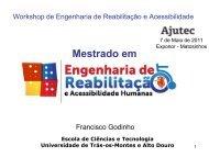 Mestrado em Engenharia de Reabilitação e Acessibilidade Humanas
