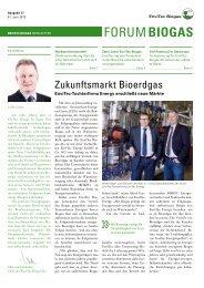 Forum Biogas Ausgabe 17 - EnviTec Biogas AG