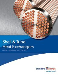 Shell & Tube Heat Exchangers - Standard Xchange
