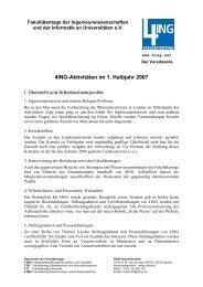 Jahresbericht, 1. Halbjahr 2007 - 4Ing