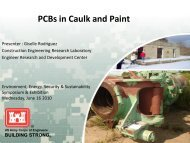 PCBs in Caulk and Paint - E2S2