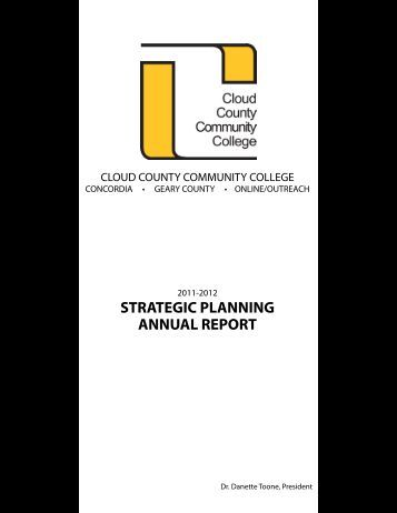 Strategic Plan - Cloud County Community College