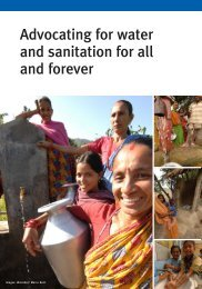 Advocating for water and sanitation for all and forever - WaterAid