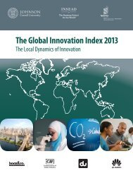 The Global Innovation Index 2013 - Finno