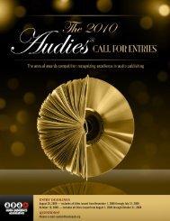 entry deadlines - Audio Publishers Association