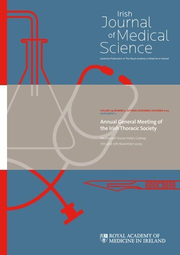 Annual General Meeting of the Irish Thoracic Society - IJMS | Irish ...