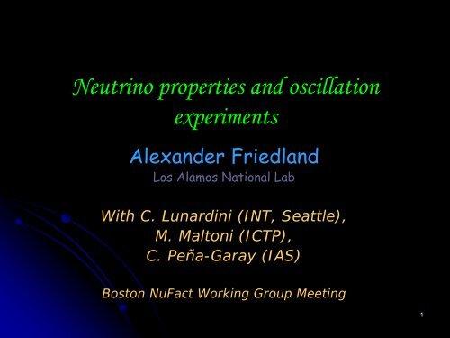 Probe of new physics with solar/atmospheric neutrinos - G-2 group