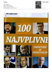 Press Review page - UniCredit Banka Slovenija dd