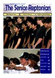 The Senior Reptonian Issue 5 Term 2 - Repton School Dubai