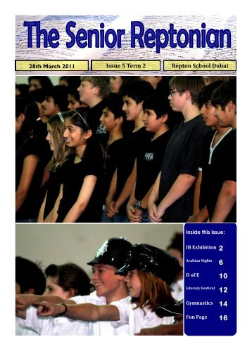 The Senior Reptonian Issue 5 Term 2 - Repton School Dubai