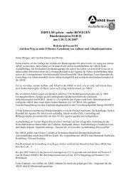IMPULSE geben – mehr BEWEGEN Bundeskongress SGB II am 1.10./2.10.2007