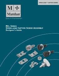 Captive Screws - Electronic Fasteners Inc