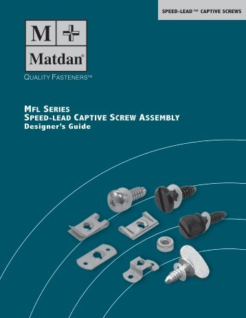 Captive Screws - Electronic Fasteners Inc
