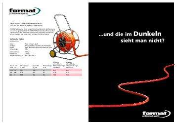FORMAT Sicherheitswasserschlauch - Fachkreis Technischer Handel
