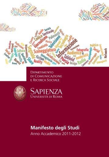 Studiare Comunicazione - Dipartimento di Comunicazione e ...