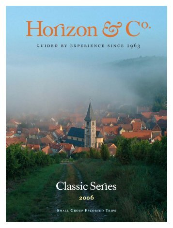 2006 Classic Brochure - Horizon & Co.