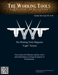 "The Working Tools Magazine ""Light"" Version - Hawthorne-Fortitude ..."