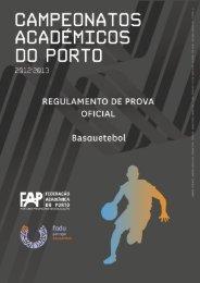 rpo cap basquetebol 2012 2013 - Federação Académica do Porto
