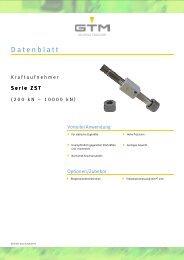 Datenblatt Serie ZST - GTM GmbH