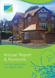 Annual Accounts 2010 - Contour Homes